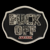 PBR Buck Off 2017 Attitude Buckle