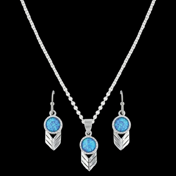 Perfect Sky Flower Jewelry Set (JS3410)