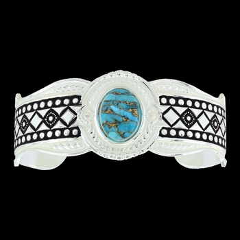 Phases of the World Cuff Bracelet (BC3354)