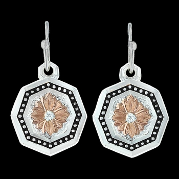 Portrait of a Prairie Daisy Earrings (ER3097RGBK)