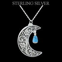 Pure Montana Half Moon Evening Treasure Necklace (NC1314)