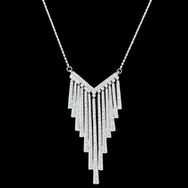 Radiant Fringe Necklace (NC3375)