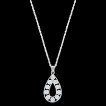 Radiant Teardrop Necklace (NC3242)