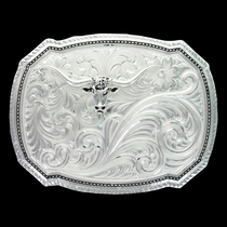 Right Cut of the Rope Buckle with Longhorn (30510-771)