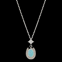 River Lights in a Pond of Luck in the Evening Sky Necklace (NC2752)
