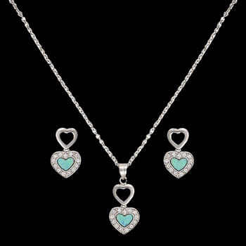 River Lights in Love Jewelry Set  (JS2537)