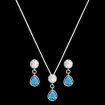 River Lights Lattice Raindrops Jewelry Set (JS2541)