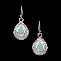 River Lights on Ice Teardrop Earrings (ER2536)