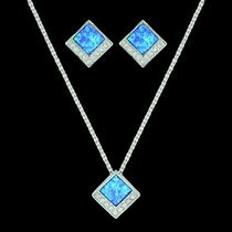 River of Light Infinity Pool Jewelry Set (JS3643)
