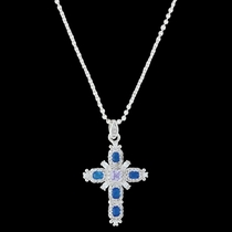 River of Lights Budded Cross Necklace (NC3399)