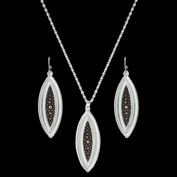 River Pebbles at Sunset Jewelry Set (JS2840RG)