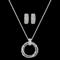 Roped in Brilliance Jewelry Set (JS3037)