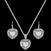 Roped My Heart Jewelry Set (JS3393)
