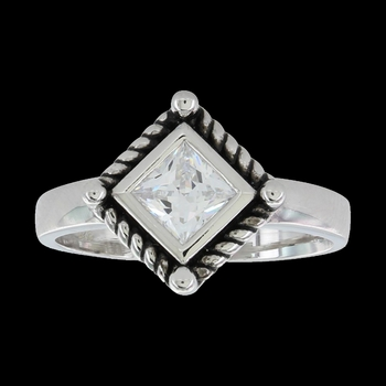 Roped Star Light Ring