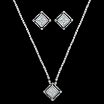 Roped Star Lights Jewelry Set (JS3024CZ)