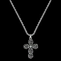 Rose-arie Cross Necklace (NC1438)
