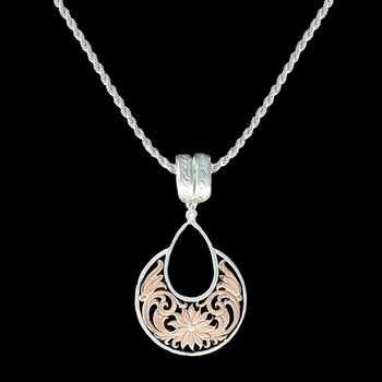 Rose Gold Bitterroot Garden Necklace (NC1557RG)