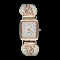 Rose Gold Filigree Ladies Expansion Band Watch (WCH60765RG)