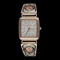 Rose Gold Hearts of Gold Ladies Expansion Band Watch (WCH127RG)