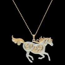 Run Free Pendant Necklace (NC2055)