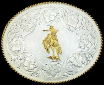 Sheridan Buckle by Montana Silversmiths