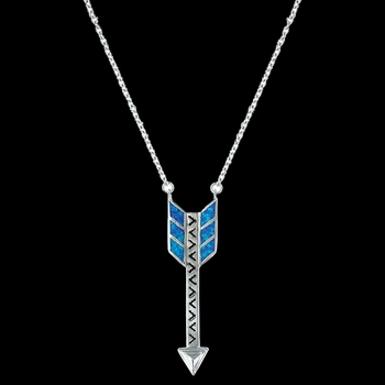 Sky Fletched Arrow Necklace (NC3244)