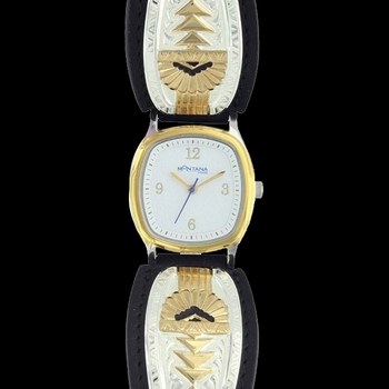 Southern Rays of Light Leather Band Watch (WCH3368)
