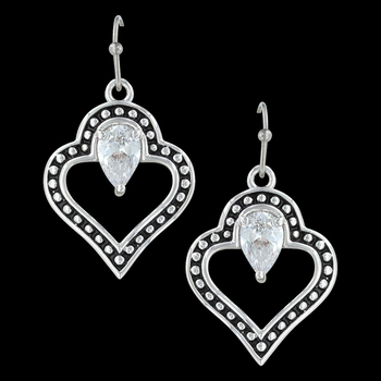 Spade of Hearts Earrings (ER3388)