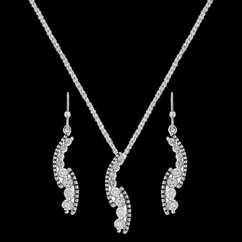 Sparkling Pathway Jewelry Set (JS3191)