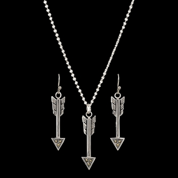 Sparks Will Fly True Arrow Jewelry Set (JS2780)