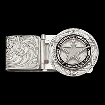 Star Concho Hinged Money Clip (MCL810)