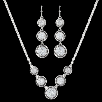 Star Lights Dewdrop Jewelry Set (JS3039CZ)
