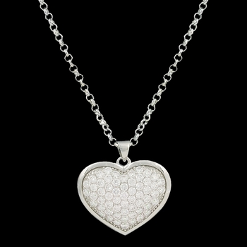 Star Lights Heart Bright Necklace (NC2246)