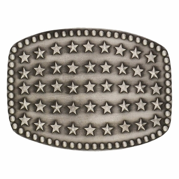 Starry Flag Attitude Buckle (A442)
