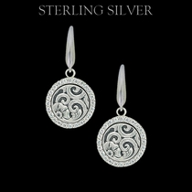 Sterling Lane Daisy Vignette Earrings (SLER011)