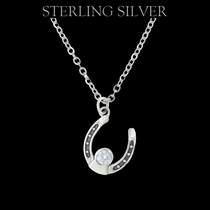 Sterling Lane Personally Mine Horseshoe Necklace (SLNC002)