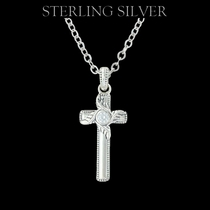 Sterling Lane Simplicity's Cross Necklace (SLNC001)