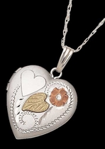 Sterling Silver Heart Locket - Landstrom's 03319-SS