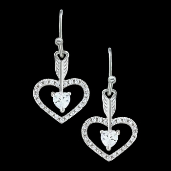 Straight to the Heart Arrow Earrings (ER3198)