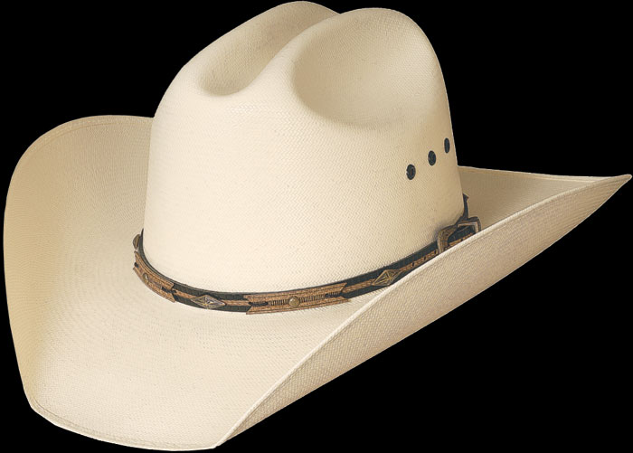 5b065f451 Straw Hat 'Dirty Dan' from Bullhide by Montecarlo Hat Co.