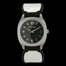 Stroke of Midnight Leather Band Watch (WCH3342NF)