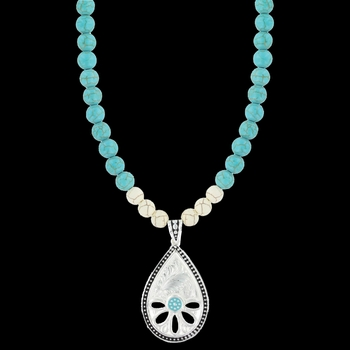 Summer's Meadow Necklace (NC2846TQ)