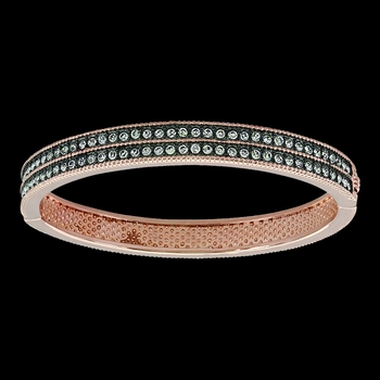 Sunset Lights Hinged Bracelet (BC3437)