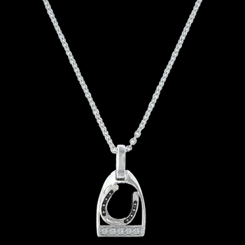 Take a Ride with Me Horseshoe Necklace (NC3224)