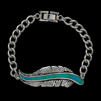 The Storyteller Feather Bracelet (BC1320)