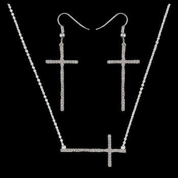 The Straight Path Cross Jewelry Set in Bright (JS2015CZ)