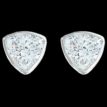Treasured Trillion Sparkling Earrings (ER3214CZ)