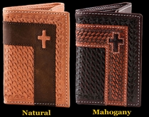 Tri-Fold Cross Wallet by Montana Silversmiths