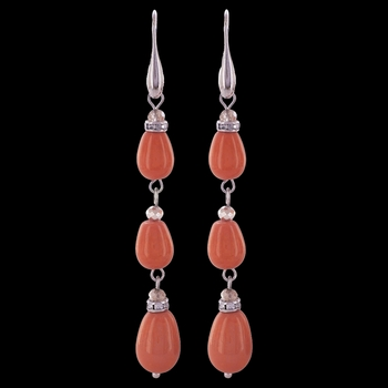 Triple Sunset Drop Earrings Attitude Jewelry (AER3466)