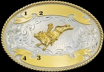 Trophy Buckle G6104 by Montana Silvermiths